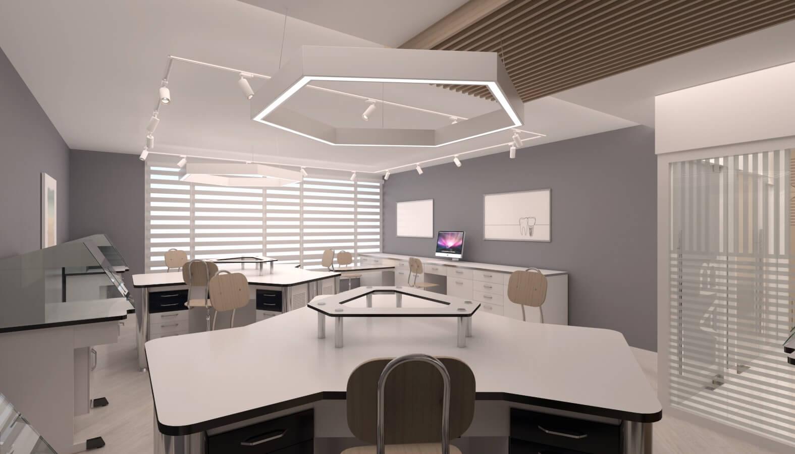 Ankara office design 3721 Crystal Dental Lab Offices