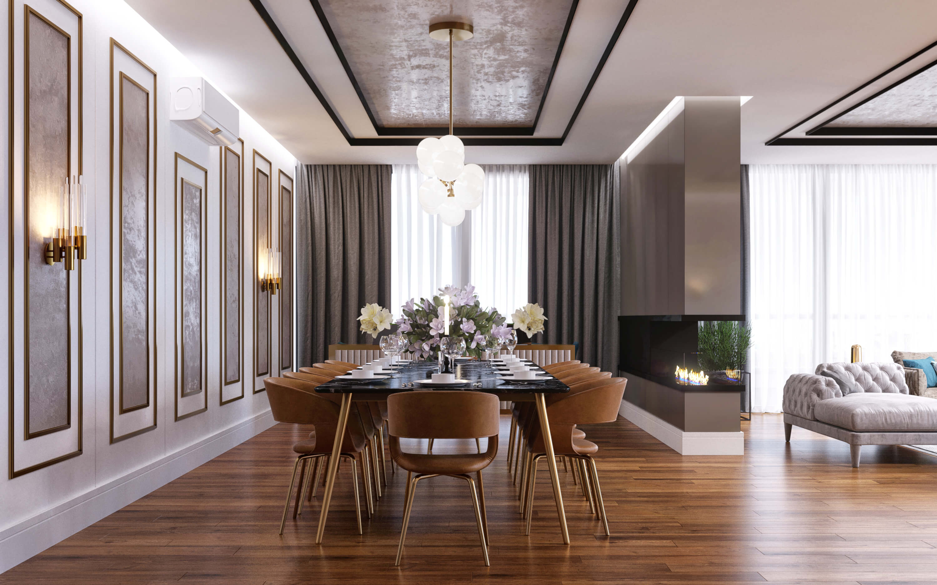 Hotel Architecture and Interior Design HT Flat