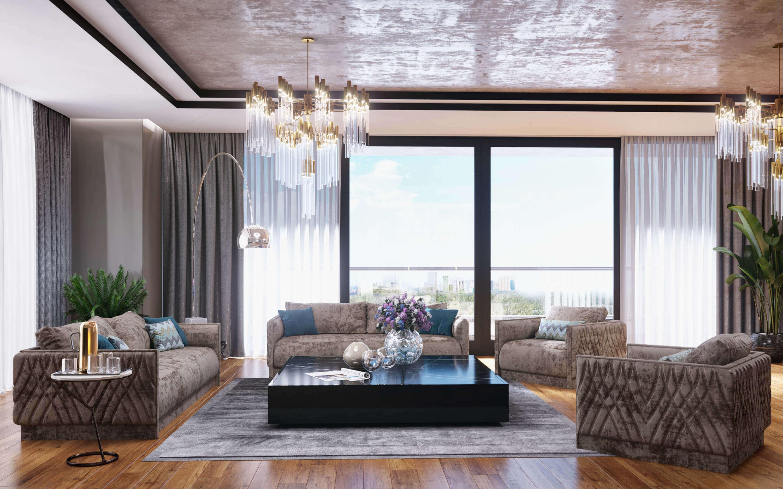 Natamam house interior design 3741 HT Flat Residential