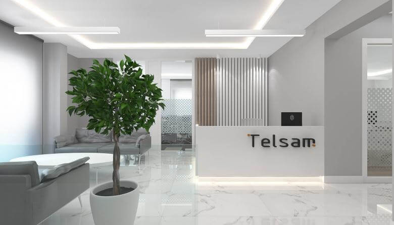 office design 3780 Telsam Telekom Offices