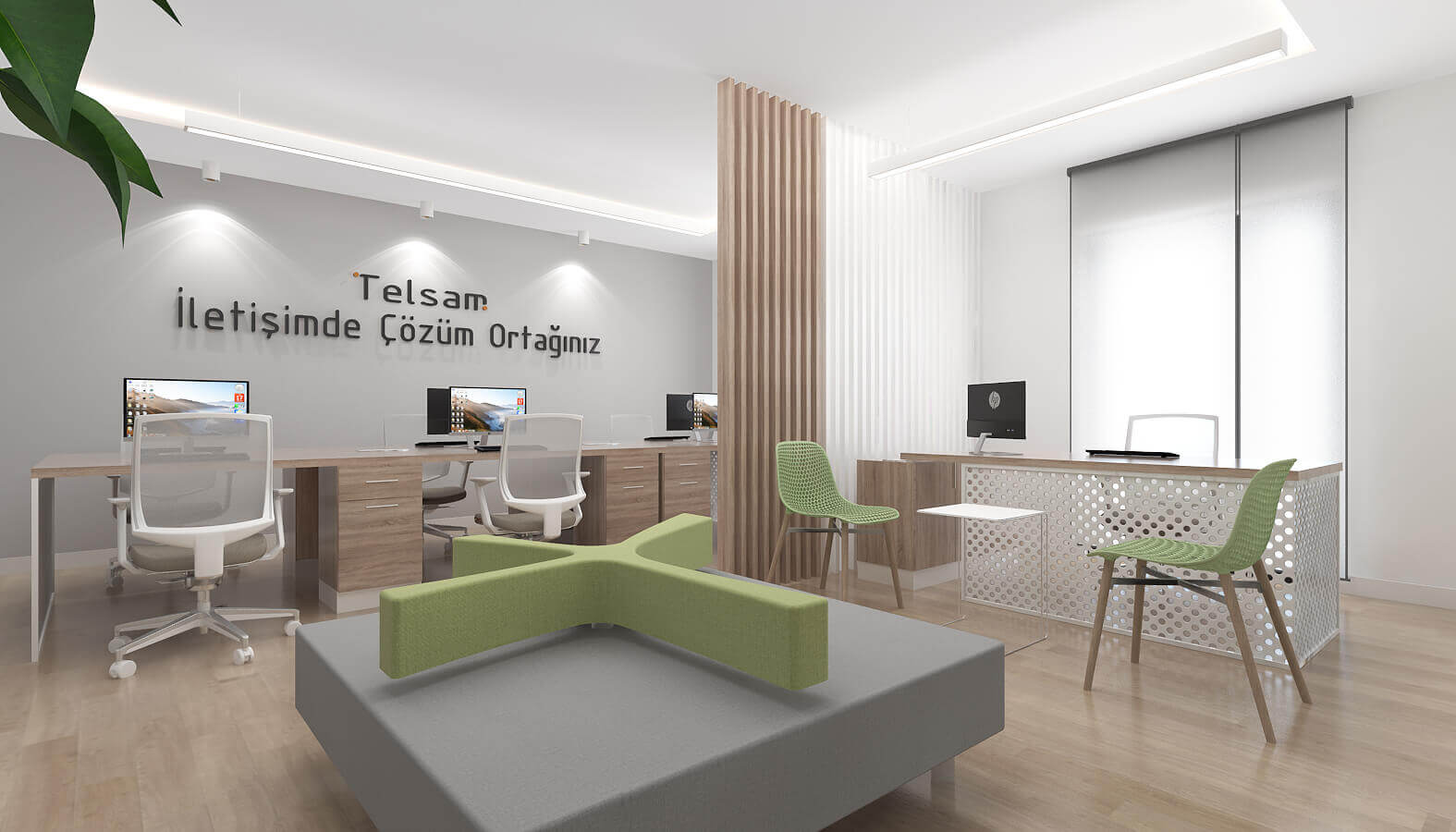 office project  3784 Telsam Telekom Offices