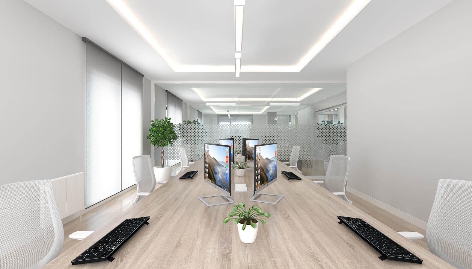 office design 3795 Telsam Telekom Offices