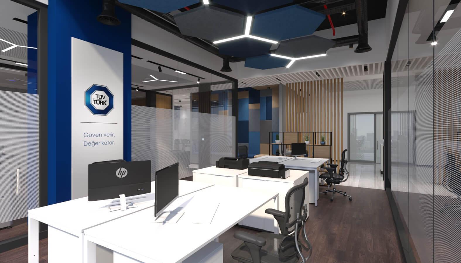 office design 3837 Tuvturk Ankara Office Offices