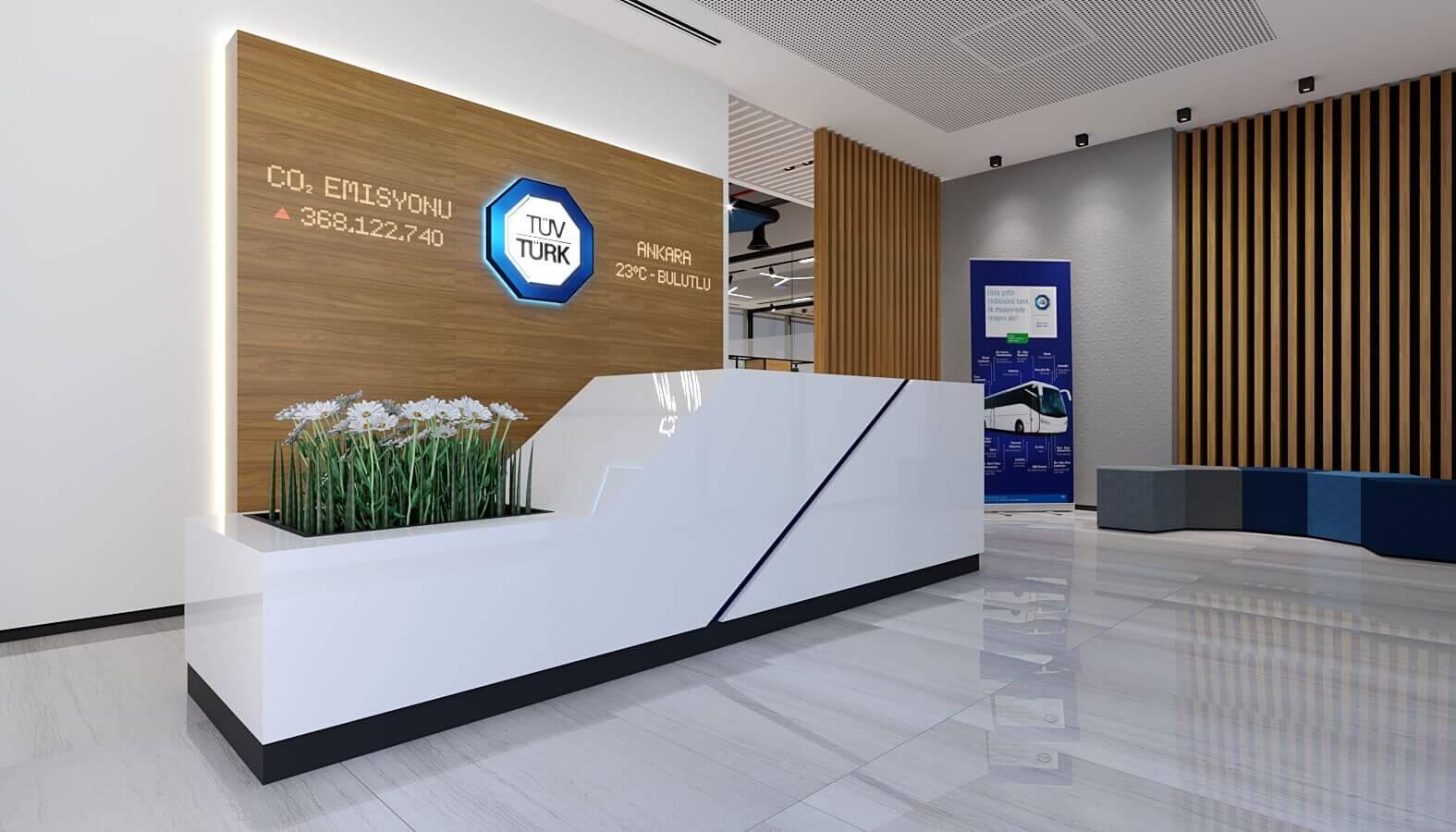 office design 3846 Tuvturk Ankara Office Offices