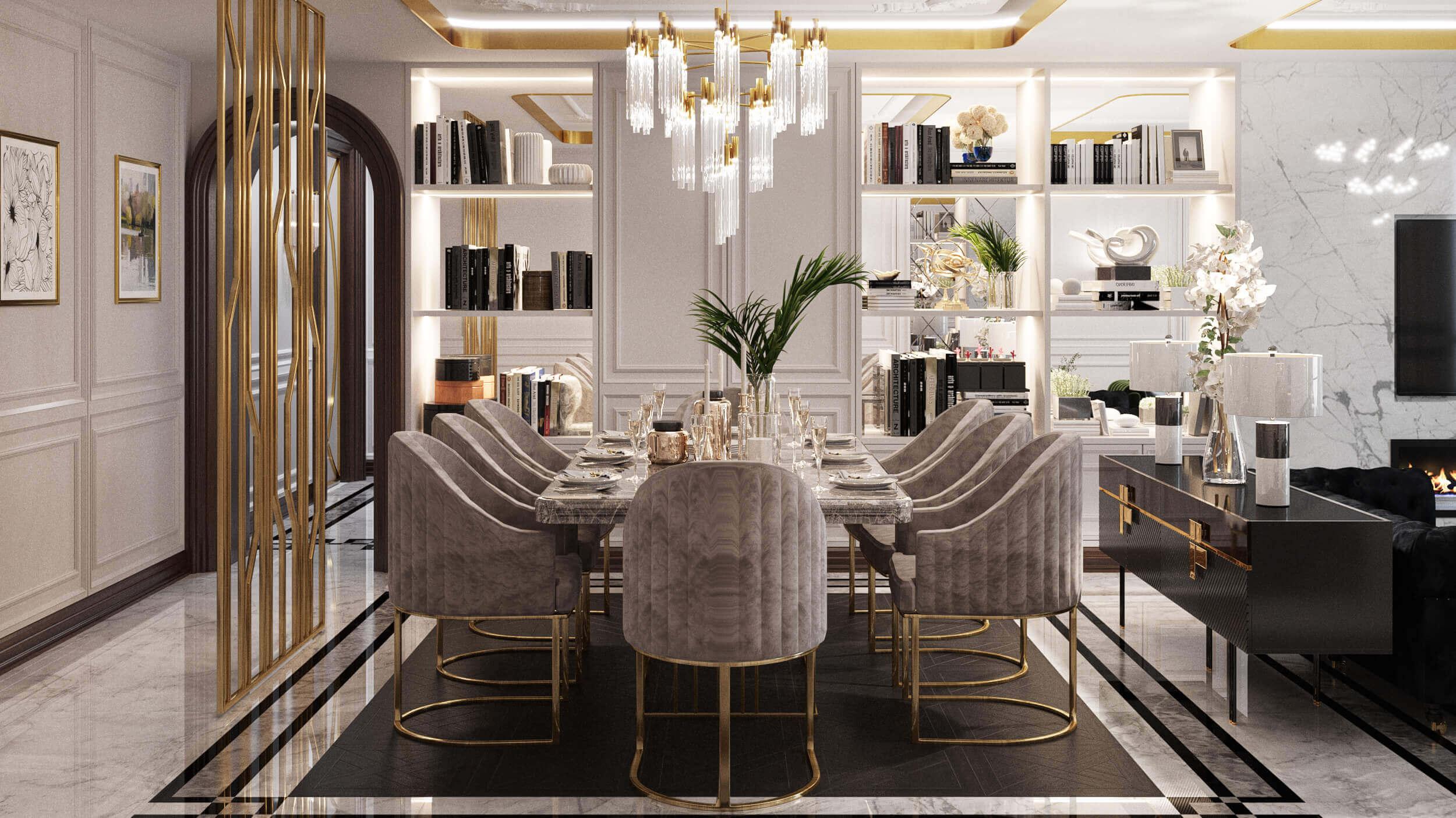 flat decoration 3860 IK Flat Residential