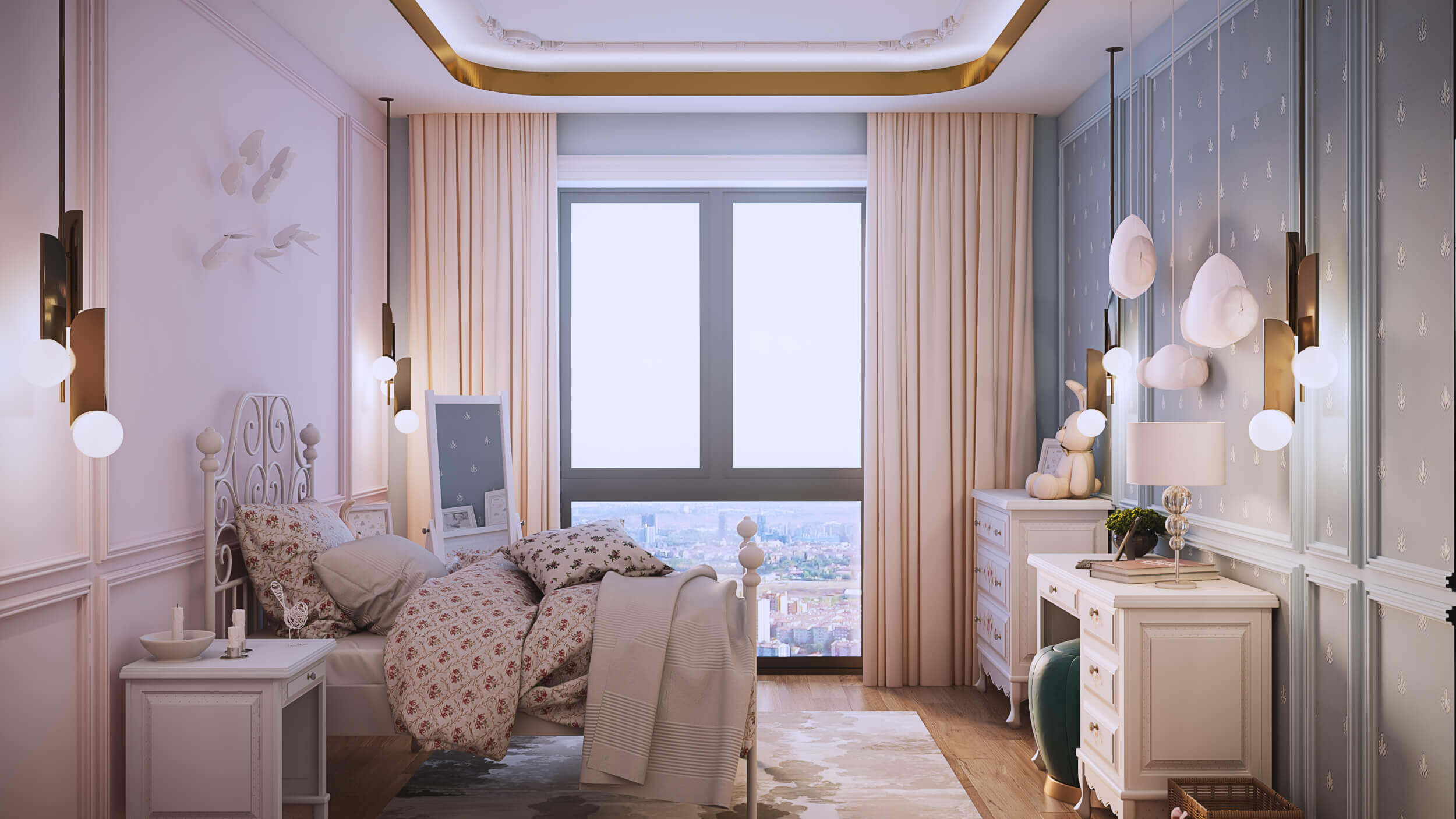 flat decoration 3875 IK Flat Residential
