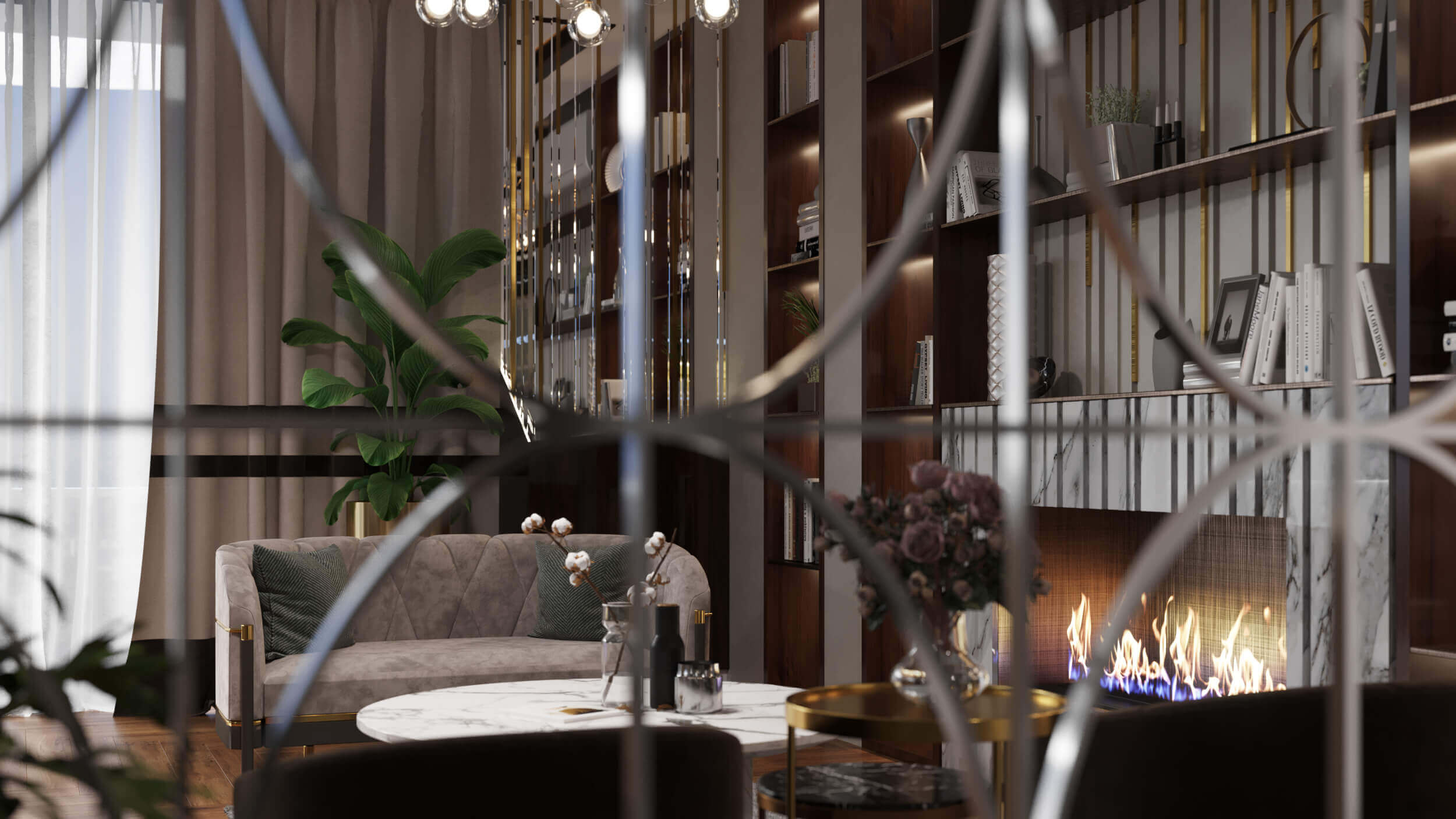 flat decoration 3950 TS Apartment Residential