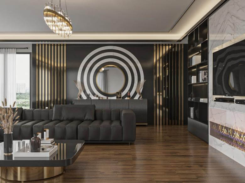 home inspiration 4101 SV Flat Residential