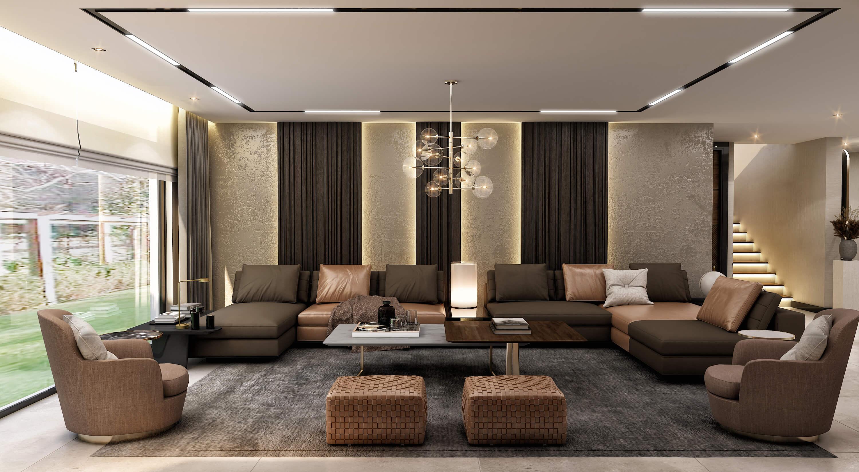 home inspiration 4383 Cemreler House Residential