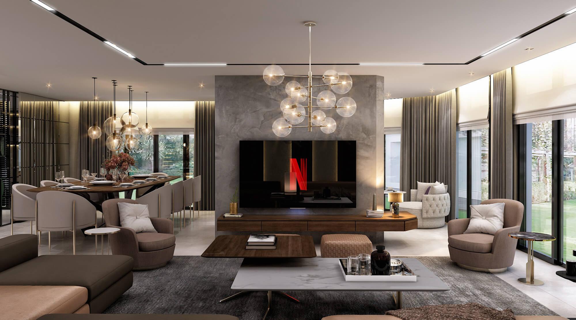 home inspiration 4392 Cemreler House Residential