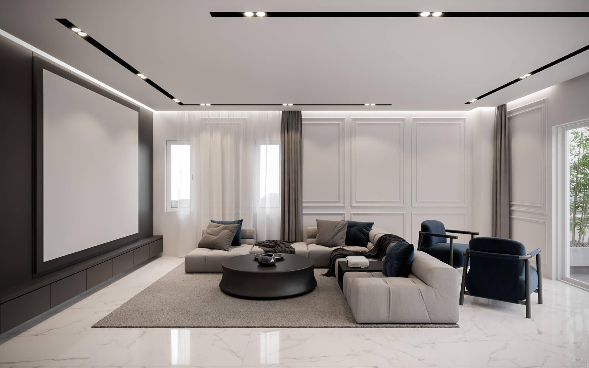 flat decoration 4475 Kardelen Koy House Residential