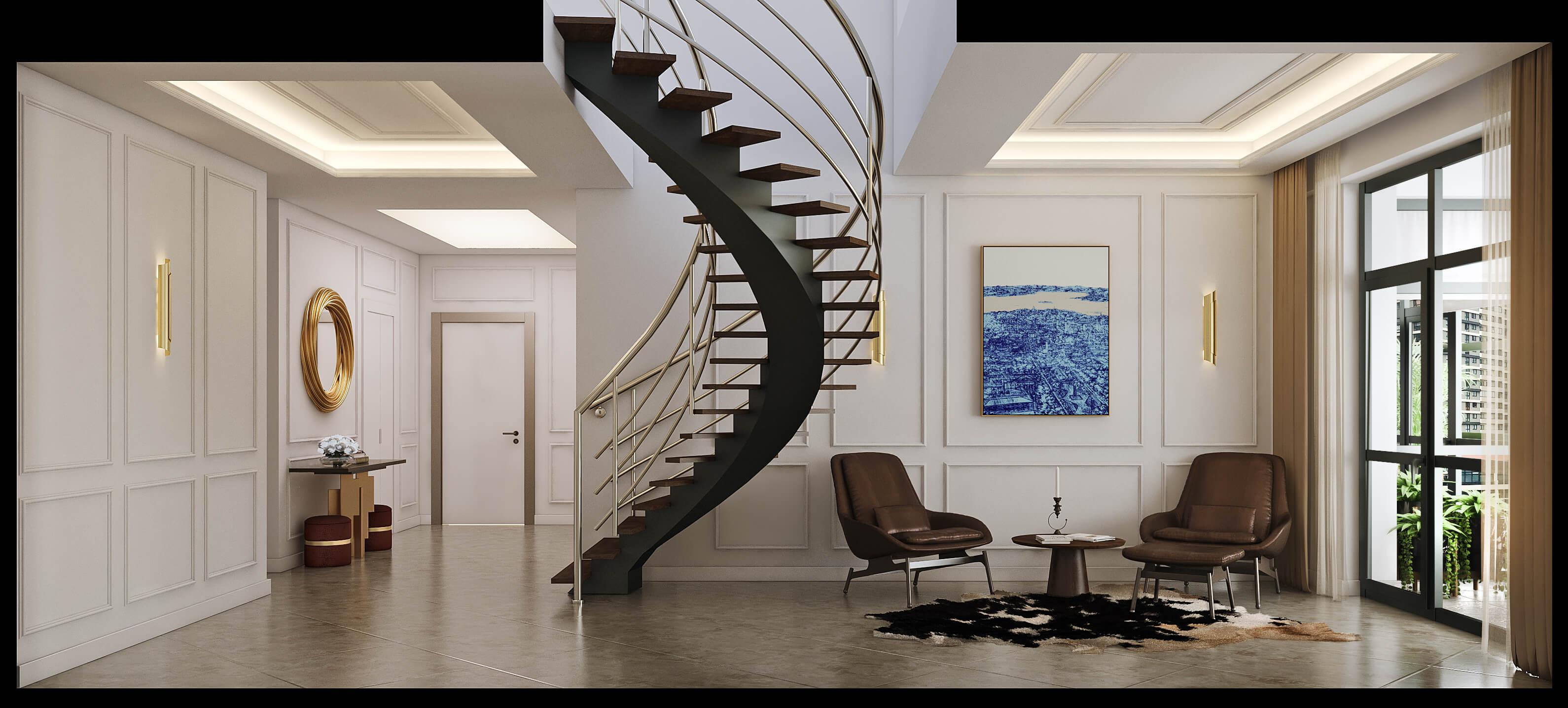 home decoration 4480 Incek Prestij Dublex Apartment Residential