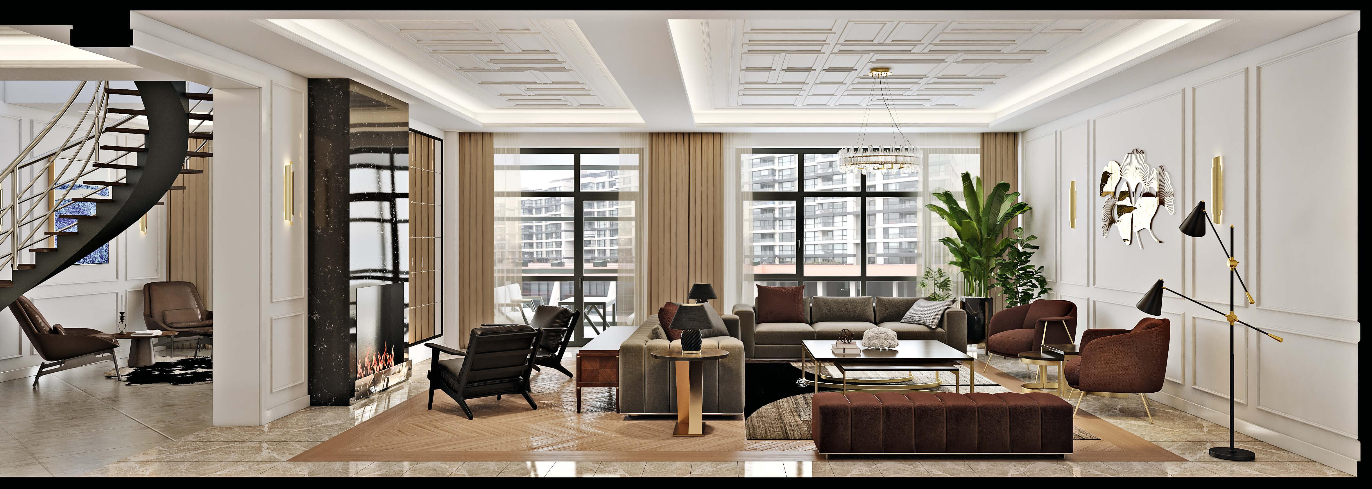 Incek Prestij 4483 Incek Prestij Dublex Apartment Residential