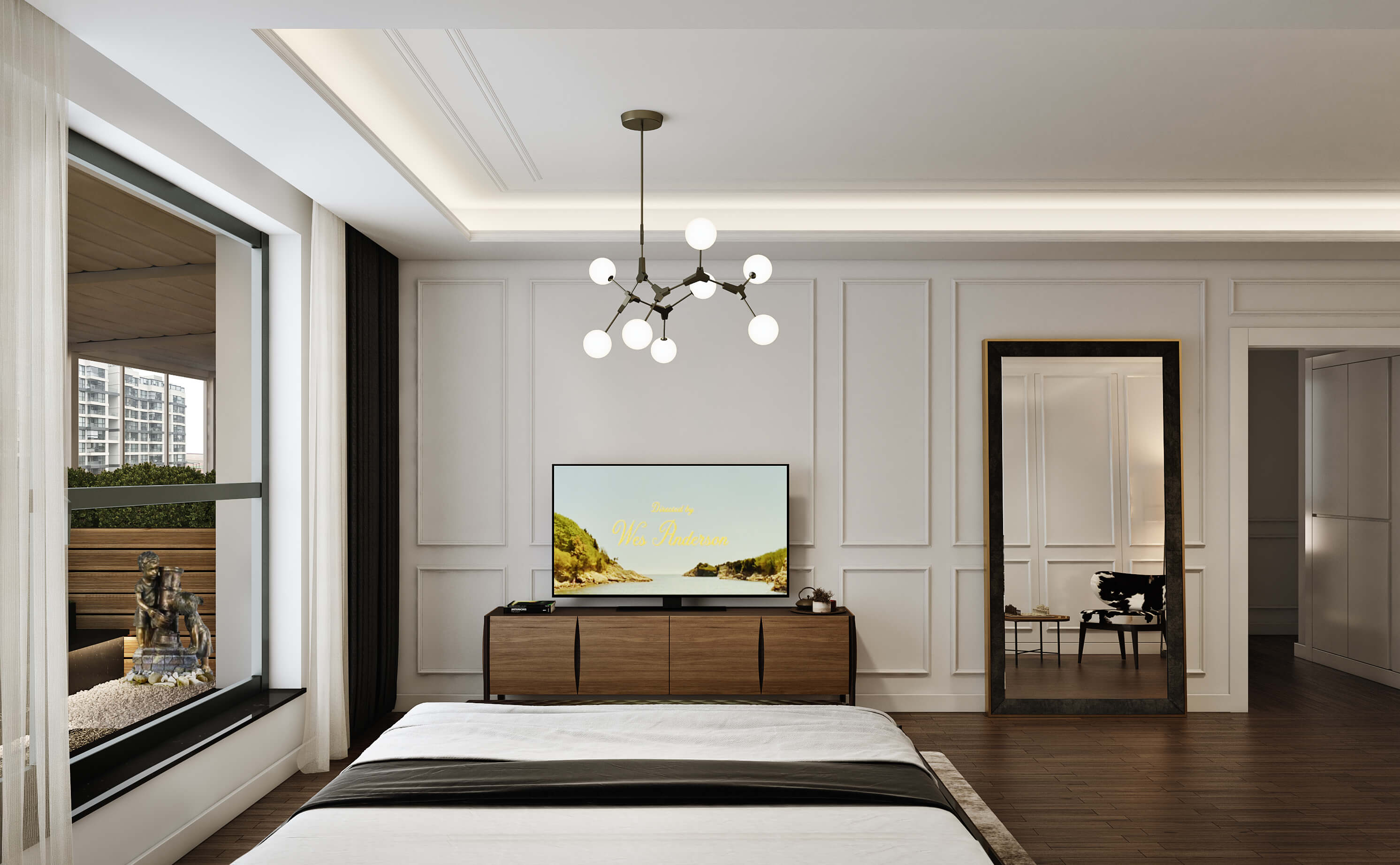 flat decoration 4490 Incek Prestij Dublex Apartment Residential
