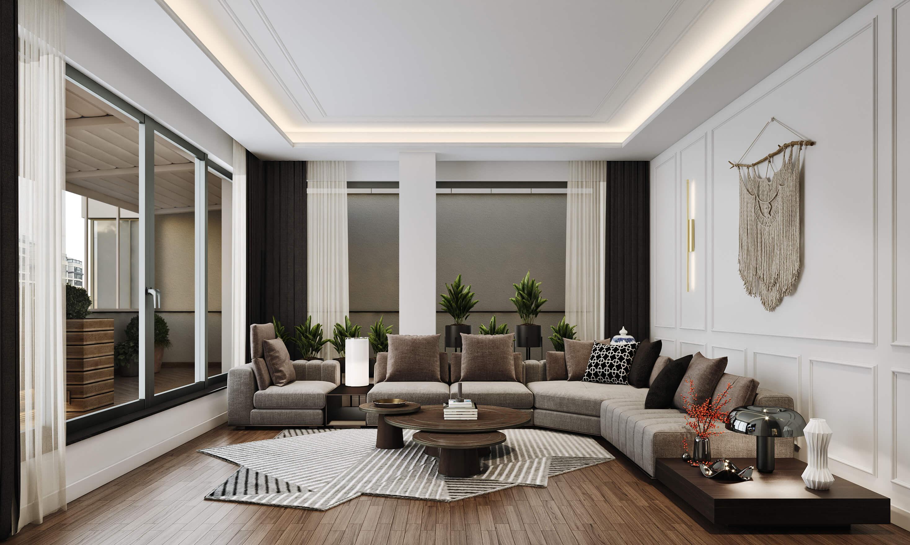 Incek Prestij 4493 Incek Prestij Dublex Apartment Residential