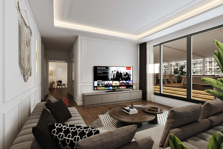 home inspiration 4494 Incek Prestij Dublex Apartment Residential