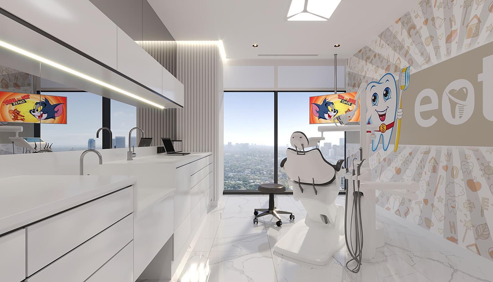Dental clinic design 4521 EOT Dental Clinic Healthcare