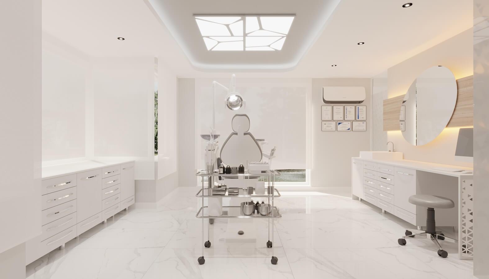Dental clinic design 4561 Ankara Dental Clinic Design Healthcare