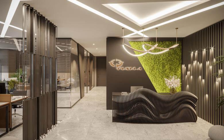 office design 4585 Mahall Ankara Offices