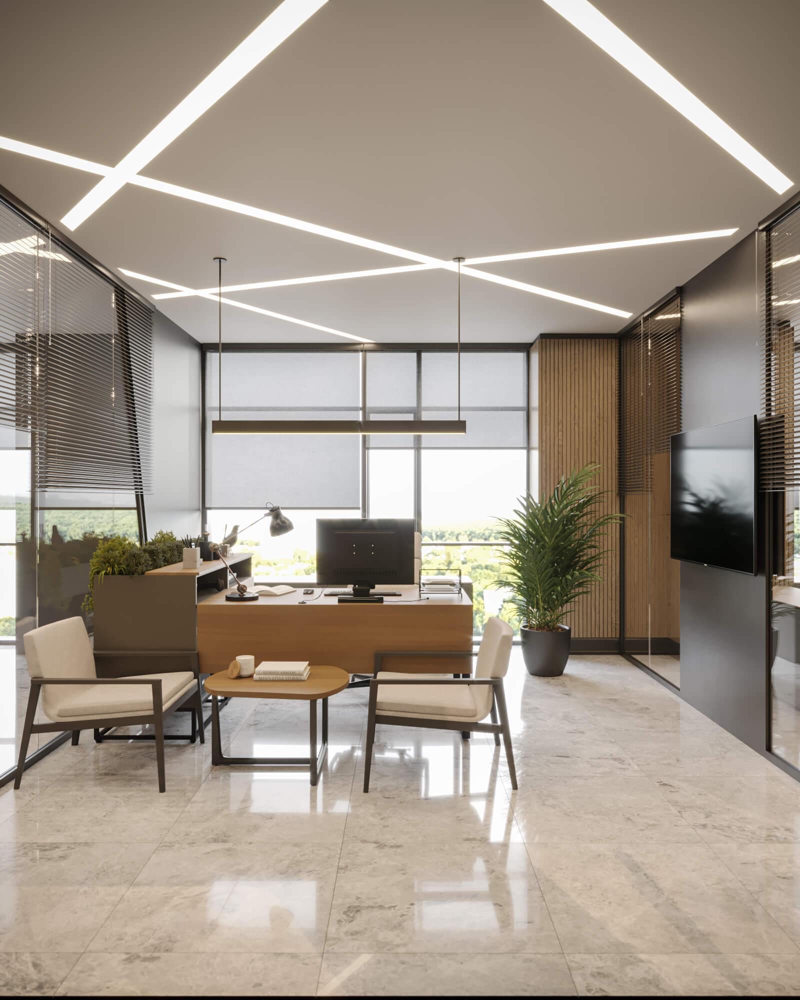 office project  4592 Mahall Ankara Offices